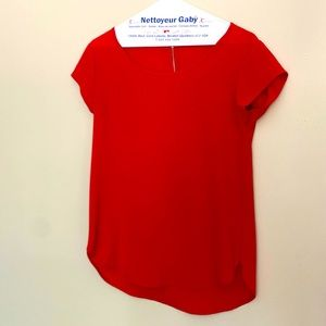 Red top Only 36